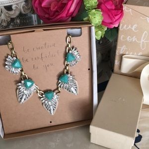 Chloe and Isabel Palm  statement necklace